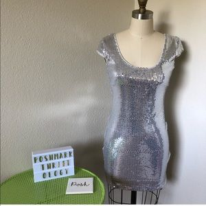 NWT ARMANI EXCHANGE SEQUIN HOLIDAY DRESS